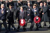 Remembrance Sunday 2012 Cenotaph March Past: Group E17 - LST & Landing Craft Association.. Whitehall, Cenotaph, London SW1,  United Kingdom, on 11 November 2012 at 11:40, image #127