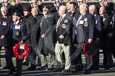 Remembrance Sunday 2012 Cenotaph March Past: Group E18 - HMS Andromeda Association.. Whitehall, Cenotaph, London SW1,  United Kingdom, on 11 November 2012 at 11:40, image #129