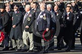 Remembrance Sunday 2012 Cenotaph March Past: Group E18 - HMS Andromeda Association.. Whitehall, Cenotaph, London SW1,  United Kingdom, on 11 November 2012 at 11:40, image #130
