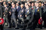 Remembrance Sunday 2012 Cenotaph March Past: Group E21 - HMS Ganges Association.. Whitehall, Cenotaph, London SW1,  United Kingdom, on 11 November 2012 at 11:40, image #144