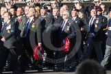 Remembrance Sunday 2012 Cenotaph March Past: Group E21 - HMS Ganges Association.. Whitehall, Cenotaph, London SW1,  United Kingdom, on 11 November 2012 at 11:40, image #145