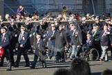 Remembrance Sunday 2012 Cenotaph March Past: Group E25 - Algerines Association and E26 - Ton Class Association.. Whitehall, Cenotaph, London SW1,  United Kingdom, on 11 November 2012 at 11:41, image #180