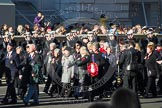 Remembrance Sunday 2012 Cenotaph March Past: Group E26 - Ton Class Association and E27 - Queen Alexandra's Royal Naval Nursing Service.. Whitehall, Cenotaph, London SW1,  United Kingdom, on 11 November 2012 at 11:41, image #191