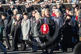 Remembrance Sunday 2012 Cenotaph March Past: Group E27 - Queen Alexandra's Royal Naval Nursing Service.. Whitehall, Cenotaph, London SW1,  United Kingdom, on 11 November 2012 at 11:41, image #192