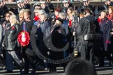 Remembrance Sunday 2012 Cenotaph March Past: Group E27 - Queen Alexandra's Royal Naval Nursing Service.. Whitehall, Cenotaph, London SW1,  United Kingdom, on 11 November 2012 at 11:41, image #193