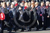 Remembrance Sunday 2012 Cenotaph March Past: Group E27 - Queen Alexandra's Royal Naval Nursing Service.. Whitehall, Cenotaph, London SW1,  United Kingdom, on 11 November 2012 at 11:41, image #196