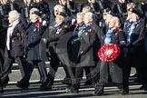 Remembrance Sunday 2012 Cenotaph March Past: Group E29 - Association of WRENS.. Whitehall, Cenotaph, London SW1,  United Kingdom, on 11 November 2012 at 11:41, image #206