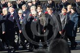Remembrance Sunday 2012 Cenotaph March Past: Group E31 - Royal Naval Communications Association.. Whitehall, Cenotaph, London SW1,  United Kingdom, on 11 November 2012 at 11:41, image #227