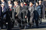 Remembrance Sunday 2012 Cenotaph March Past: Group E31 - Royal Naval Communications Association.. Whitehall, Cenotaph, London SW1,  United Kingdom, on 11 November 2012 at 11:41, image #229
