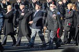 Remembrance Sunday 2012 Cenotaph March Past: Group E32 - Royal Naval Medical Branch Ratings & Sick Berth Staff Association.. Whitehall, Cenotaph, London SW1,  United Kingdom, on 11 November 2012 at 11:41, image #232