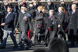 Remembrance Sunday 2012 Cenotaph March Past: Group E32 - Royal Naval Medical Branch Ratings & Sick Berth Staff Association.. Whitehall, Cenotaph, London SW1,  United Kingdom, on 11 November 2012 at 11:41, image #233