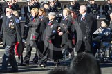 Remembrance Sunday 2012 Cenotaph March Past: Group E32 - Royal Naval Medical Branch Ratings & Sick Berth Staff Association.. Whitehall, Cenotaph, London SW1,  United Kingdom, on 11 November 2012 at 11:41, image #234