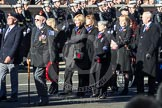 Remembrance Sunday 2012 Cenotaph March Past: Group E32 - Royal Naval Medical Branch Ratings & Sick Berth Staff Association.. Whitehall, Cenotaph, London SW1,  United Kingdom, on 11 November 2012 at 11:41, image #235