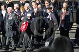 Remembrance Sunday 2012 Cenotaph March Past: Group E36 - Yangtze Incident Association.. Whitehall, Cenotaph, London SW1,  United Kingdom, on 11 November 2012 at 11:42, image #266