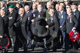 Remembrance Sunday 2012 Cenotaph March Past: Group E40 - Broadsword Association.. Whitehall, Cenotaph, London SW1,  United Kingdom, on 11 November 2012 at 11:42, image #286