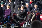 Remembrance Sunday 2012 Cenotaph March Past: Group E41 - British Limbless Ex-Service Men's Association and E42 - British Ex-Services Wheelchair Sports Association.. Whitehall, Cenotaph, London SW1,  United Kingdom, on 11 November 2012 at 11:43, image #306