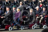 Remembrance Sunday 2012 Cenotaph March Past: Group E41 - British Limbless Ex-Service Men's Association and E42 - British Ex-Services Wheelchair Sports Association.. Whitehall, Cenotaph, London SW1,  United Kingdom, on 11 November 2012 at 11:43, image #307