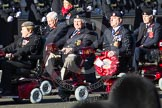 Remembrance Sunday 2012 Cenotaph March Past: Group E41 - British Limbless Ex-Service Men's Association and E42 - British Ex-Services Wheelchair Sports Association.. Whitehall, Cenotaph, London SW1,  United Kingdom, on 11 November 2012 at 11:43, image #308