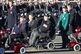 Remembrance Sunday 2012 Cenotaph March Past: Group E41 - British Limbless Ex-Service Men's Association and E42 - British Ex-Services Wheelchair Sports Association.. Whitehall, Cenotaph, London SW1,  United Kingdom, on 11 November 2012 at 11:43, image #315