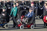 Remembrance Sunday 2012 Cenotaph March Past: Group E41 - British Limbless Ex-Service Men's Association and E42 - British Ex-Services Wheelchair Sports Association.. Whitehall, Cenotaph, London SW1,  United Kingdom, on 11 November 2012 at 11:43, image #316