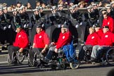 Remembrance Sunday 2012 Cenotaph March Past: Group E42 - British Ex-Services Wheelchair Sports Association.. Whitehall, Cenotaph, London SW1,  United Kingdom, on 11 November 2012 at 11:43, image #325