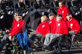 Remembrance Sunday 2012 Cenotaph March Past: Group E42 - British Ex-Services Wheelchair Sports Association.. Whitehall, Cenotaph, London SW1,  United Kingdom, on 11 November 2012 at 11:43, image #326