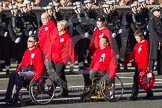 Remembrance Sunday 2012 Cenotaph March Past: Group E42 - British Ex-Services Wheelchair Sports Association.. Whitehall, Cenotaph, London SW1,  United Kingdom, on 11 November 2012 at 11:43, image #329