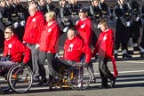 Remembrance Sunday 2012 Cenotaph March Past: Group E42 - British Ex-Services Wheelchair Sports Association.. Whitehall, Cenotaph, London SW1,  United Kingdom, on 11 November 2012 at 11:43, image #330