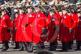Remembrance Sunday 2012 Cenotaph March Past: Group E43 - Royal Hospital, Chelsea (Chelsea Pensioners).. Whitehall, Cenotaph, London SW1,  United Kingdom, on 11 November 2012 at 11:43, image #333