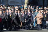 Remembrance Sunday 2012 Cenotaph March Past: Group F2 - Aden Veterans Association.. Whitehall, Cenotaph, London SW1,  United Kingdom, on 11 November 2012 at 11:45, image #394