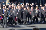 Remembrance Sunday 2012 Cenotaph March Past: Group F4 - Showmens' Guild of Great Britain.. Whitehall, Cenotaph, London SW1,  United Kingdom, on 11 November 2012 at 11:45, image #407