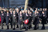 Remembrance Sunday 2012 Cenotaph March Past: Group F5 - Queen's Bodyguard of The Yeoman of The Guard.. Whitehall, Cenotaph, London SW1,  United Kingdom, on 11 November 2012 at 11:45, image #414