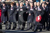 Remembrance Sunday 2012 Cenotaph March Past: Group F5 - Queen's Bodyguard of The Yeoman of The Guard.. Whitehall, Cenotaph, London SW1,  United Kingdom, on 11 November 2012 at 11:45, image #415