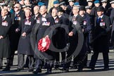 Remembrance Sunday 2012 Cenotaph March Past: Group F5 - Queen's Bodyguard of The Yeoman of The Guard.. Whitehall, Cenotaph, London SW1,  United Kingdom, on 11 November 2012 at 11:45, image #416