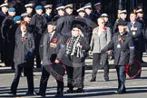 Remembrance Sunday 2012 Cenotaph March Past: Group F6 - Popski's Private Army.. Whitehall, Cenotaph, London SW1,  United Kingdom, on 11 November 2012 at 11:45, image #418