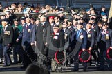 Remembrance Sunday 2012 Cenotaph March Past: Group F8 - British Korean Veterans Association.. Whitehall, Cenotaph, London SW1,  United Kingdom, on 11 November 2012 at 11:46, image #427