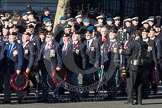 Remembrance Sunday 2012 Cenotaph March Past: Group F8 - British Korean Veterans Association.. Whitehall, Cenotaph, London SW1,  United Kingdom, on 11 November 2012 at 11:46, image #428