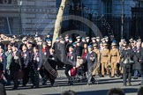 Remembrance Sunday 2012 Cenotaph March Past: Group F8 - British Korean Veterans Association and F9 - National Malaya & Borneo Veterans Association.. Whitehall, Cenotaph, London SW1,  United Kingdom, on 11 November 2012 at 11:46, image #433