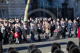 Remembrance Sunday 2012 Cenotaph March Past: Group F9 - National Malaya & Borneo Veterans Association and F10 - National Service Veterans Alliance.. Whitehall, Cenotaph, London SW1,  United Kingdom, on 11 November 2012 at 11:46, image #444