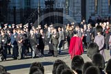 Remembrance Sunday 2012 Cenotaph March Past: Group F10 - National Service Veterans Alliance and F11 - Italy Star Association.. Whitehall, Cenotaph, London SW1,  United Kingdom, on 11 November 2012 at 11:46, image #452