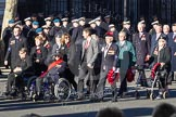 Remembrance Sunday 2012 Cenotaph March Past: Group F12 - Monte Cassino Society.. Whitehall, Cenotaph, London SW1,  United Kingdom, on 11 November 2012 at 11:46, image #466