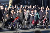 Remembrance Sunday 2012 Cenotaph March Past: Group F12 - Monte Cassino Society.. Whitehall, Cenotaph, London SW1,  United Kingdom, on 11 November 2012 at 11:46, image #469