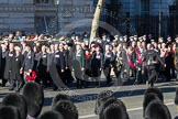 Remembrance Sunday 2012 Cenotaph March Past: Group F13 - Gallantry Medallists League and F14 - National Pigeon War Service.. Whitehall, Cenotaph, London SW1,  United Kingdom, on 11 November 2012 at 11:47, image #487