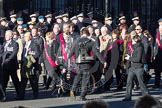 Remembrance Sunday 2012 Cenotaph March Past: Group F14 - National Pigeon War Service.. Whitehall, Cenotaph, London SW1,  United Kingdom, on 11 November 2012 at 11:47, image #488