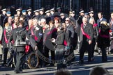 Remembrance Sunday 2012 Cenotaph March Past: Group F14 - National Pigeon War Service.. Whitehall, Cenotaph, London SW1,  United Kingdom, on 11 November 2012 at 11:47, image #490