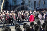 Remembrance Sunday 2012 Cenotaph March Past: Group F14 - National Pigeon War Service and F15 - National Gulf Veterans & Families Association.. Whitehall, Cenotaph, London SW1,  United Kingdom, on 11 November 2012 at 11:47, image #492