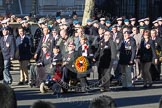 Remembrance Sunday 2012 Cenotaph March Past: Group  F15 - National Gulf Veterans & Families Association.. Whitehall, Cenotaph, London SW1,  United Kingdom, on 11 November 2012 at 11:47, image #500
