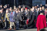 Remembrance Sunday 2012 Cenotaph March Past: Group  F15 - National Gulf Veterans & Families Association.. Whitehall, Cenotaph, London SW1,  United Kingdom, on 11 November 2012 at 11:47, image #504