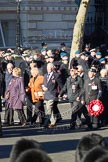 Remembrance Sunday 2012 Cenotaph March Past: Group F16 - Fellowship of the Services... Whitehall, Cenotaph, London SW1,  United Kingdom, on 11 November 2012 at 11:47, image #526