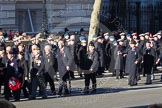 Remembrance Sunday 2012 Cenotaph March Past: Group A4 - Royal Sussex Regimental Association, A5 - Royal Hampshire Regiment Comrades Association, and A6 - Royal Regiment of Fusiliers.. Whitehall, Cenotaph, London SW1,  United Kingdom, on 11 November 2012 at 11:48, image #574